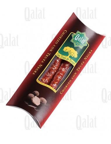 Salchichón con trufa negra Qalat