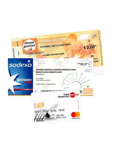 Cargar 9€ Monedero con Ticket...